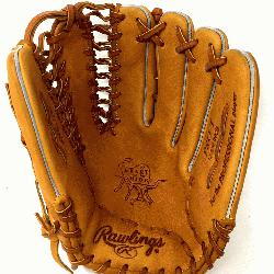 of the Horween leather 12.75 inch outfield glove with trap-eze web. No p