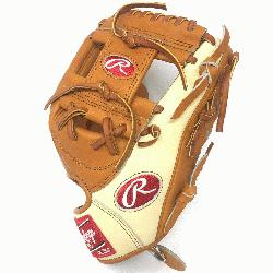t of the Hide Camel and Tan 11.5 inch baseball glove. Open