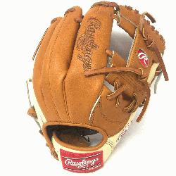 s Heart of the Hide Camel and Tan 11.5 inch baseball glove. Open back and I Web./p