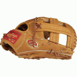Crafted from Rawlings world-renowned Heart of the Hide steer hide leather, the H