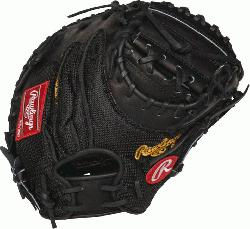 rt of the Hide Yadier Molina gameday pattern 34 inch catchers mitt. 3 piece solid web and conven