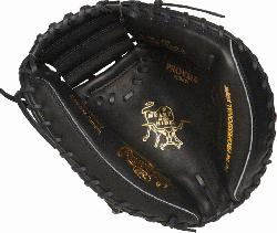 lings Heart of the Hide Yadier Molina gameday pattern 34 inch catchers mitt. 3 piece solid