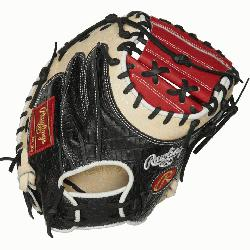 he Heart of the Hide ColorSync 34-Inch catchers mitt provides an unm