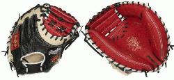 rt of the Hide ColorSync 34-Inch catchers mitt provides