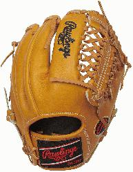 lings Heart of Hide PRO205-9TIM 11.75 inch, Brown, mesh back, 2 piece web./p