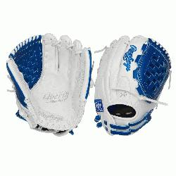 field in style with the Liberty Advanced Color Series 12-Inch infield/pitchers glove. Its adjus