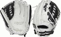 ed from the finest full-grain leather, the Liberty Advanced 12.5-Inch fastpitch glove features exc