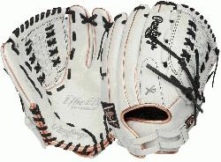 on Color Series - White/Navy Colorway 13 Inch Slowpitch Model H Web Break-In: 80%