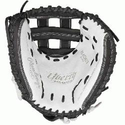 ade; web is similar to the Pro H web, but modified for softball glove pattern Catchers mitt 20