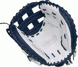 ition Color Series - White/Navy Colorway 33 Inch Womens Catchers Model Modified Pro H Web Break-I