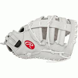 Post reinforced, Double Bar web forms a snug, secure pocket for first base mitts First base mitt
