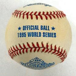 Rawlings Official World Series Baseball 1 Each. One ball in box./p