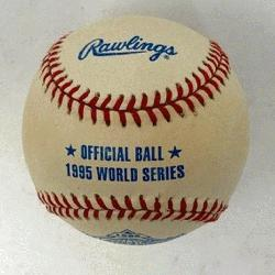 gs Official World Series Baseball 1 Each. One ball in box./p