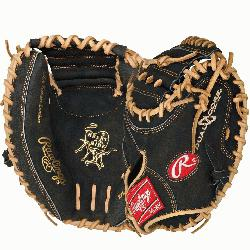 M33DCB Heart of the Hide 33 inch Dual Core Catchers Mitt Right Handed ThrowRawlings PROCM33DCB Hear