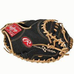 CM33DCB Heart of the Hide 33 inch Dual Core Catchers Mitt Right Handed ThrowRawlings PROCM33DCB