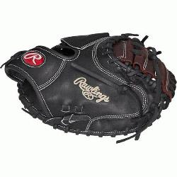 Constructed from Rawlings worldrenowned Heart of the Hide174 steer hide leather Heart of th