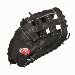 Rawlings PROFM20B Heart of Hide First Base Mitt 12.25 (Right H