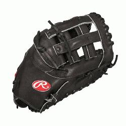 0B Heart of Hide First Base Mitt 12.25 (Right Handed Throw) : This Heart of the Hide 1st ba