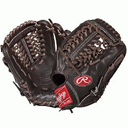 his Pro Preferred baseball glove from Rawlings features a conventional