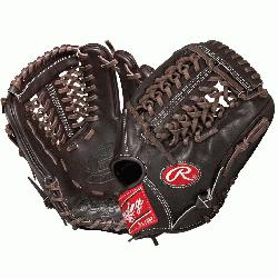 red baseball glove from Rawlings