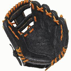 Pro 11.25 inch Baseball Glove PPR1125 (Right Hand Throw) : The Solid Core technology features O