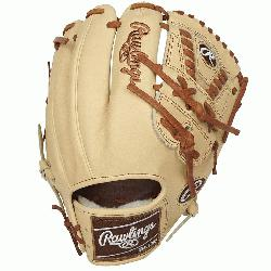 red line of baseball gloves from Rawlings are known for their clean, supple f