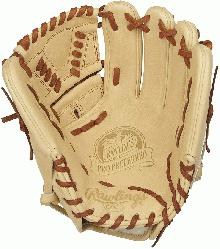 Preferred line of baseball gloves from Rawlings are known for their clean, supple full