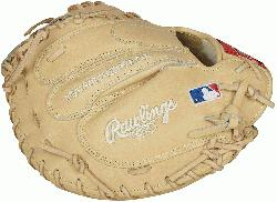 reat behind the plate with the 2021 Pro Preferred 34-inch catchers mitt. Its craf