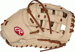 red 1st Base baseball glove from Rawlings Gear feature