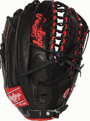 referred Gameday Pattern. 12.75 inch outfield glove. Trap-eze web and conventio