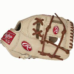 "is Pro Preferred 11 3/4"" baseball gloves from Rawlings features the PRO I Web pattern, wh"