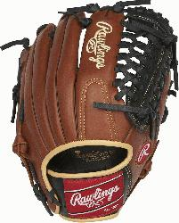 Series gloves feature an oiled pull-up leather that