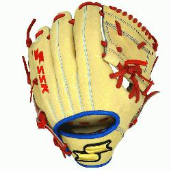ai Baez Blonde custom glove is the exact blond