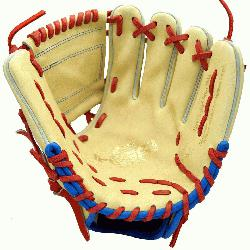 kigai Baez Blonde custom glove is the exact blonde color and feel of
