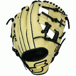 Baseball Glove Colorway: Brown | White Conventional Open Back Elite Infie