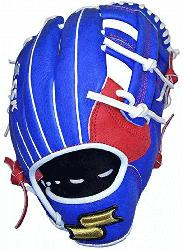 tern Modeled after Javier Baez's pro-level glove Top Grain Steerhide Leather Dimple Sen