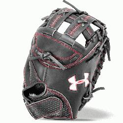 the UA Deception 33.5 fastpitch catcher s mitt designed for the serious fastpitch softba