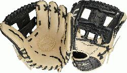 Black and cream design Right hand throw 11.5 inches infield model Pro-