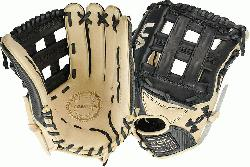 cream design Right hand throw 12.75inch outfield glove Premium cowhide palm Japanese t