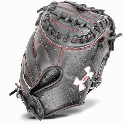 tchers Glove Conventional Open Back. Wide, Deep Pocket. Vertically Laced Two-Piece Closed Web Perfo