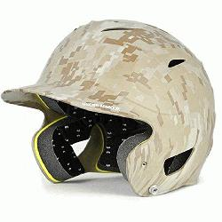 ur Youth Batting Helmet Matte Finish (Camo) : Under Armour Protective UABH110MC Youth Mil