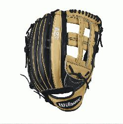 75 Wilson A2K 1799 Outfield Baseball GloveA2K 1799 Outfield 12.75 Baseball Glove - R