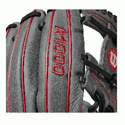 Wilson A1000 glove is made with the same innovation that drives Wilso