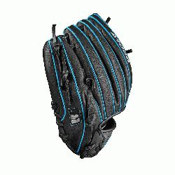 e 11.25 Wilson A1000 glove is made with t