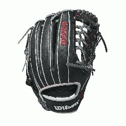 Wilson A1000 glove is made with a Pro laced T-Web and comes in left- and right-hand thr