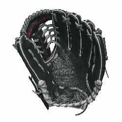 he 11.5 Wilson A1000 glove is made with a Pro laced T-Web and comes