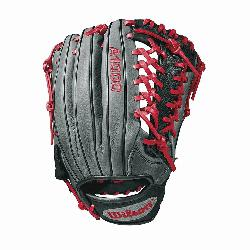 A1000 glove is made with the same innovation that drives Wilson Pro stock outfield patterns, an