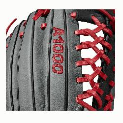The 12.5 Wilson A1000 glove is made with the same innovat