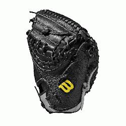 catcher model, half moon web Thumb Protector Black SuperSkin -- twic