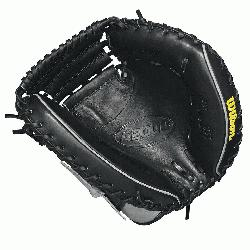 3.5 catcher model, half moon web Thumb Protector Black SuperSkin --